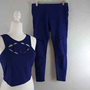 Fabletics Leggings and Top Set